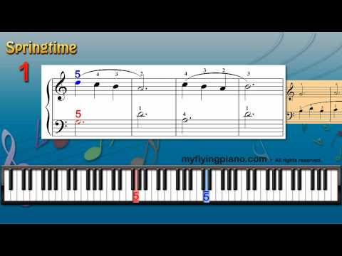 24.Springtime - Score-110 - MyFlyingPiano.com