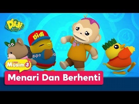 Didi & Friends | Lagu Baru Musim 3 | Menari Dan Berhenti