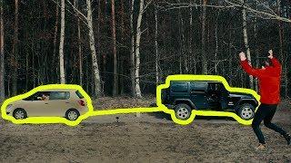 Ciągnę Jeepa na Taśmie Klejącej