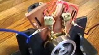 Solenoid V-Twin 4-stroke Electric Motor