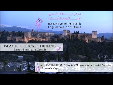 D3S2 Roman Grosfoguel: Migrants History: Theories of Migration in World Historical Perspective