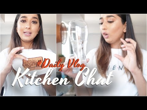 Why I am Fit || Kitchen Chat Vlog #Dailyvlogs || Brownbeautysimor