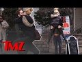 """Wall Street"" Star Margot Robbie is All Over Her Assistant Director Boyfriend Tom Ackerley 