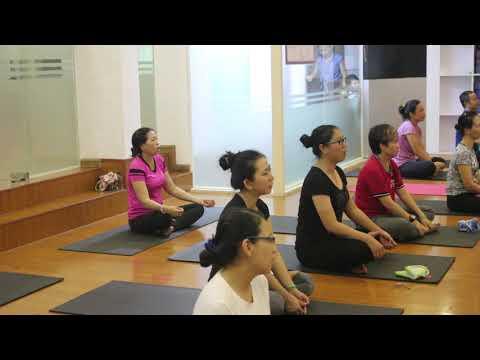 Hariom Namah Shivaya Kirtana at Pranava Yoga,Ho Chi Minh City,Vietnam