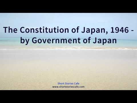 The Constitution of Japan, 1946   by Government of Japan