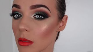 BALLROOM DANCING MAKEUP V.7 Feat Green Smokey Eyes by Rachel Macintosh