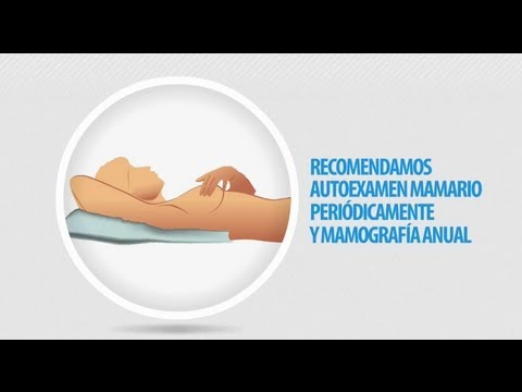 Auto examen de mamas