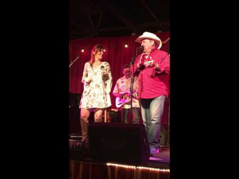 "Johnny Lee and Daughter Sing ""Yellow Rose of Texas"""