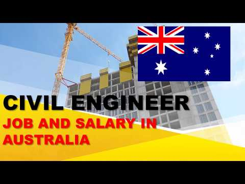 Civil Engineer Salary In Australia - Jobs And Wages In Australia