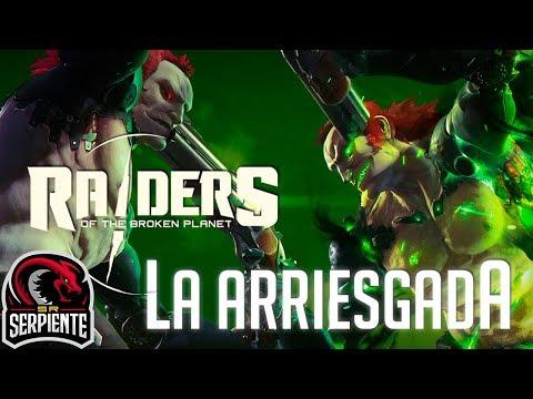 LA ARRIESGADA   RAIDERS OF THE BROKEN PLANET - Review Made in Spain