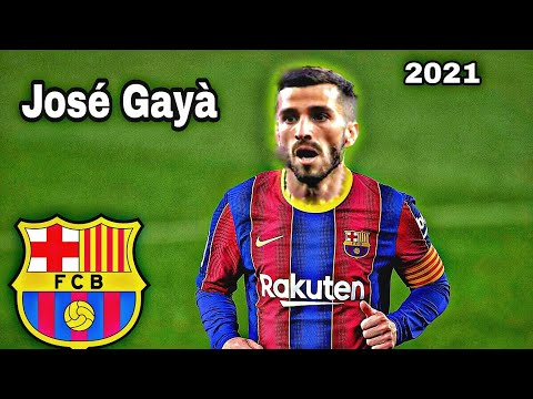 Jose Gaya - Welcome To Barcelona | Defending • Tackles • Dribbling