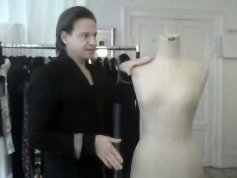 12. Draping in a pattern-making style, Part 2 - by bespoke tailor Sten Martin
