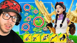 I Found ALL Mythic Weapons in ONE Game! (Fortnite)