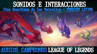 Jinx G.E | Voces e Interacciones (LATINO) | League of Legends