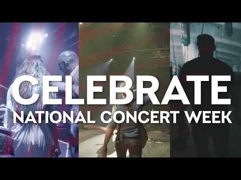 "Jonny Hartwell - LIVE NATION: Kicking Off""National Concert Week""On May 1st"