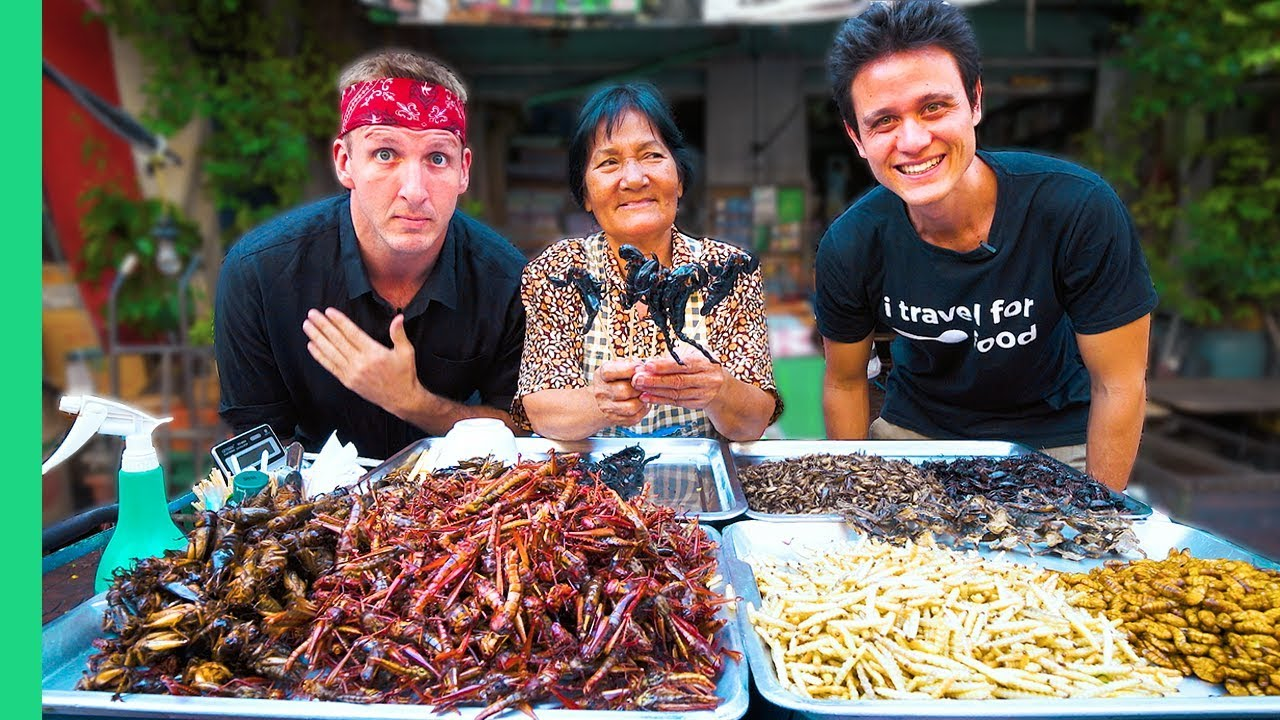 Exotic Thai Food Tour In Bangkok With Mark Wiens Freaky Thai Food Yummy Face Challenge Youtube