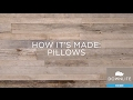 How We Assemble Pillows In The USA DOWNLITE