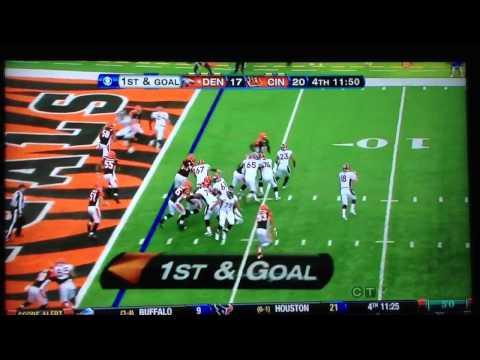 Peyton Manning Audible VS Bengals