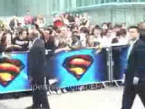 Superman Returns Avant Premiere Paris