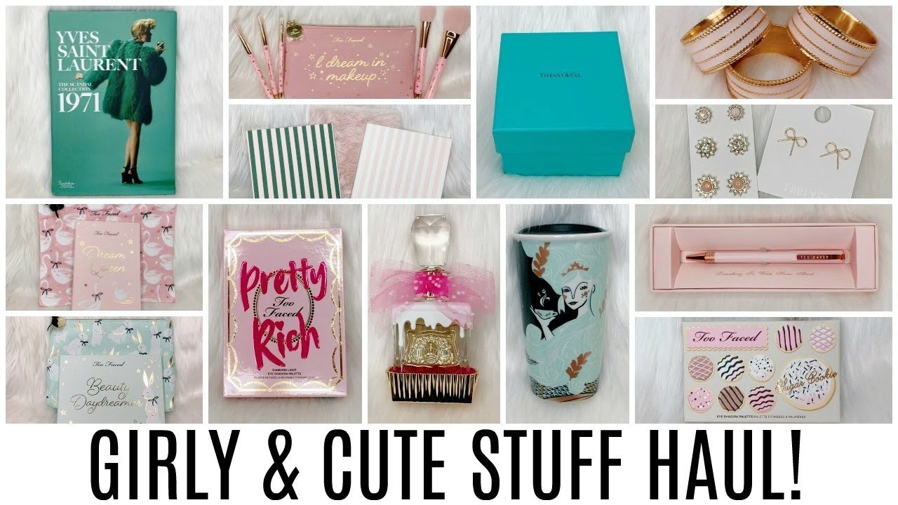 Y Cute Stuff Haul Home Decor Makeup Accessories Stationery More