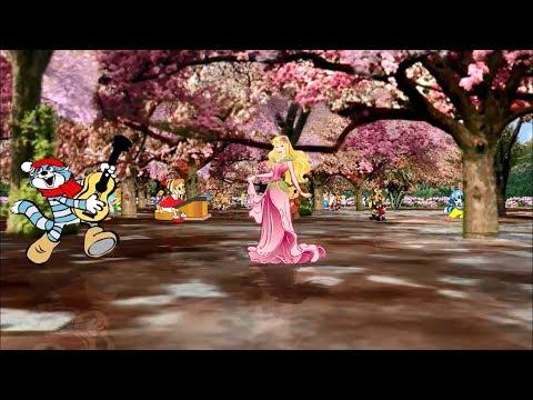 Любимые герои из сказок и мультфильмов в Сказочном лесу!!!