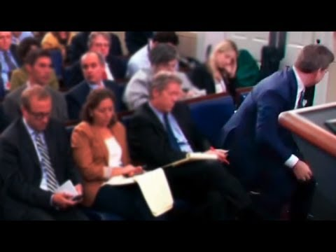 Fox News Reporter Storms Out Of White House Press Briefing