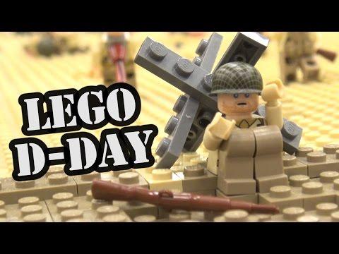 LEGO Saving Private Ryan D-Day Omaha Beach Scene | World War Brick 2017