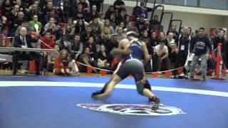 2015 Junior National Championships: 55 kg Final Darthe Capellan vs. Sam Jagas