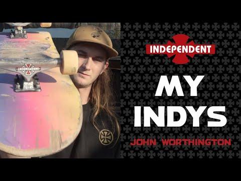 John Worthington: My Indys   Independent Trucks