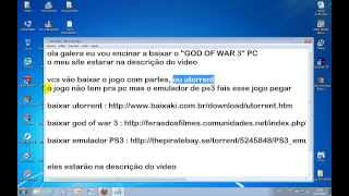 "como baixar god of war 3 pc "" de gabriel martins """