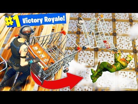 DEADLY BUMPER CARTS Custom Gamemode in Fortnite Battle Royale
