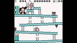 All Death Animations - Donkey Kong [Gameboy]