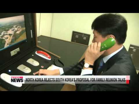 North Korea rejects South Korea's proposal for family reunion talks