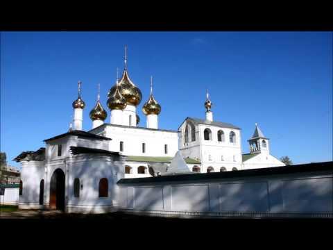 Воскресенский монастырь и церковь Рождества Иоанна Предтечи в Угличе 10 05 2015г