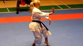 Karate Finnish Open 2010 - Female Kata Final - Karin Hägglund - Suparinpei
