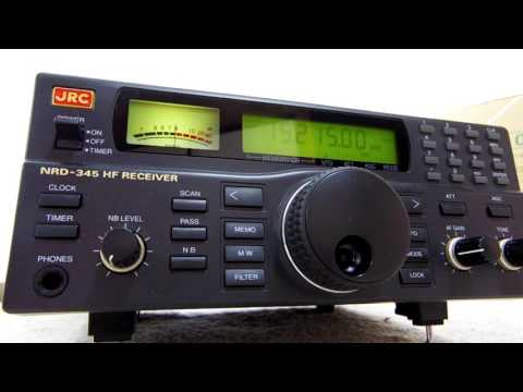 BCL DXing Japan My favorite receiver JRC NRD-345