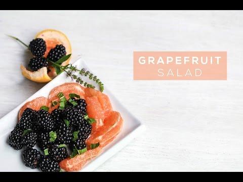 Grapefruit Berry Salad | Summer Citrus Salad Recipe