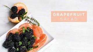 Grapefruit Berry Salad  Summer Citrus Salad Recipe