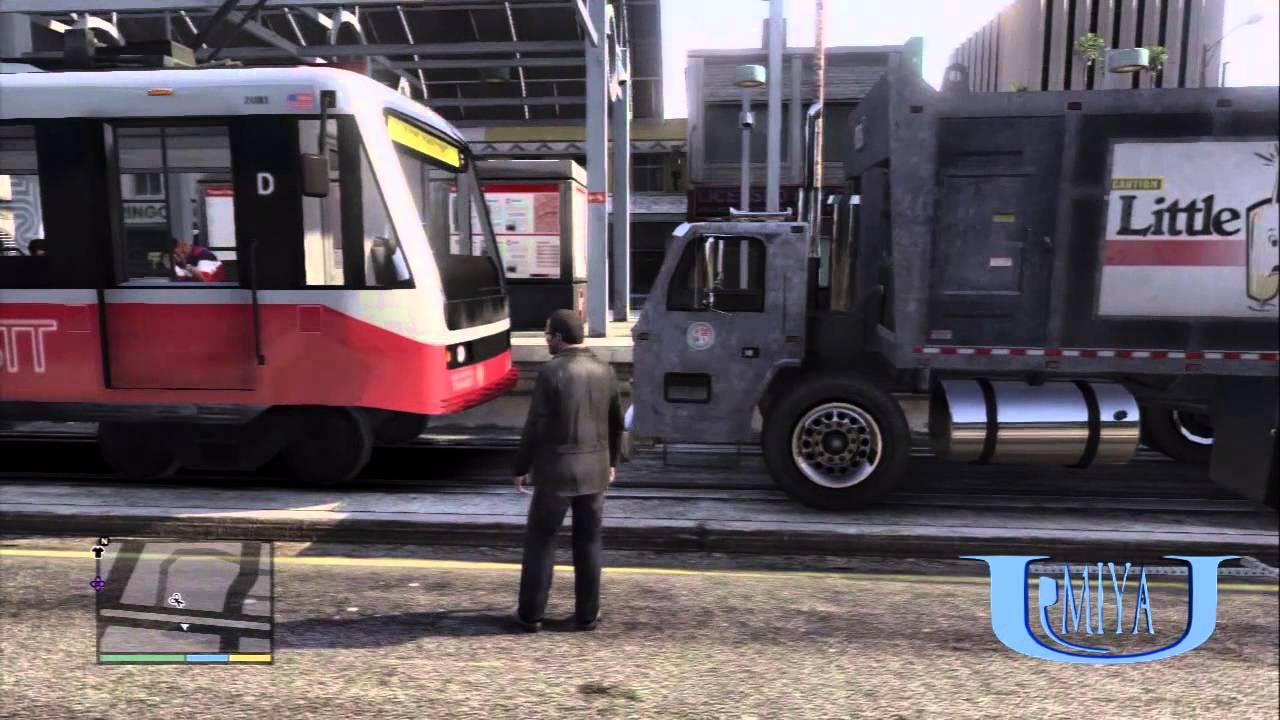 みやゆう 【GTA5】路面電車を止めてみた!! みやゆう  【GTA5】路面電車を止めてみた!!