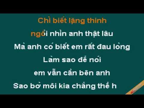 Em Chi La Ban Than Karaoke - Janny Hải Yến - CaoCuongPro