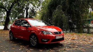 Seat Ibiza FR facelift (2015) test / review