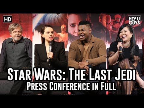 Star Wars: The Last Jedi Press Conference in Full (Daisy Ridley / John Boyega / Mark Hamill)