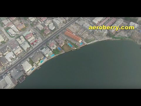 Lekki Peninsula Lagos Nigeria - DJI Phantom III Pro HD Drone Video