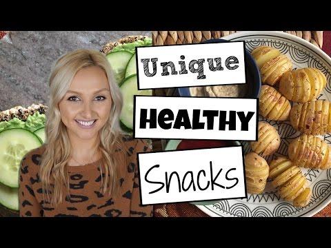 Healthy Snack Ideas VEGAN + GlutenFree -