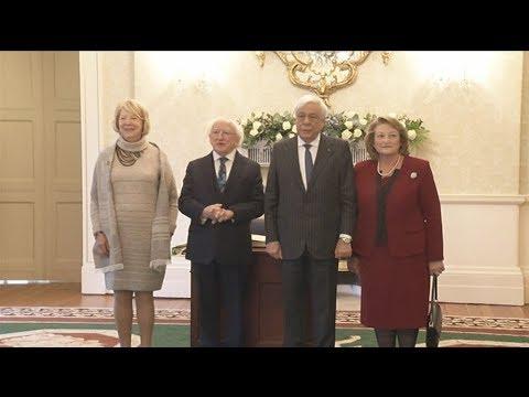 Επίσημη επίσκεψη του ΠτΔ στην Ιρλανδία