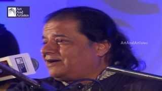 Bhajan Samrat Anup Jalota LIVE Performance | Lazaatein Gham | Taal : Dadra - Idea Jalsa, Indore