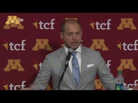Press Conference: Coach Fleck Previews Wisconsin