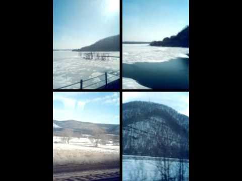 Train Travels: Amtrak Pennsylvanian Views