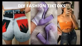Tiktok Thrift Flip Compilation | UPCYCLING CLOTHES AND DIY FASHION