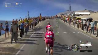 Tour de France 2016: Gameplay Mont Ventoux
